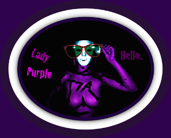 purple lady